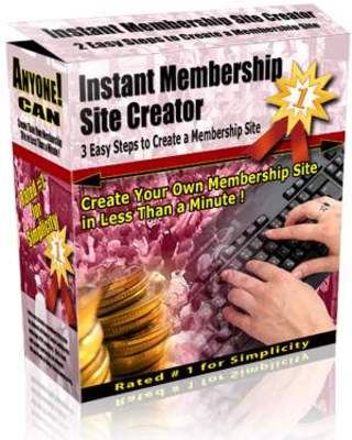 Product picture Instant Membership Site Creator 3.2