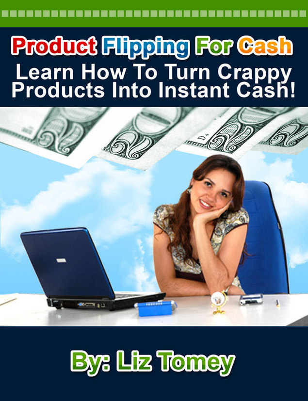 Product picture Product Flipping For Cash with MRR!
